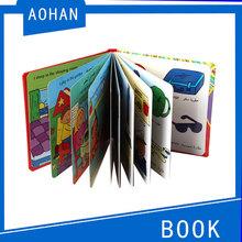 2014 oem personalizados de alta calidad arábica libro para niños, el aprendizaje de inglés libro