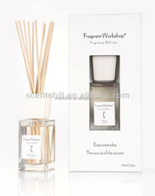 100ml Name brand lavender/rose and other scents high end reed diffuser for home decoration