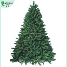 Penas da árvore de natal SX-0053 enfeite de natal com cone do pinho