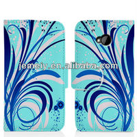 Pattern flip leather case for Samsung Galaxy S4 i9500