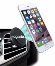 Universal Air Vent Magnetic Car Mount Holder stick Cell Phones and Mini Tablets