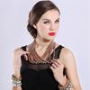 Statement Necklace,latest design beads necklace(SWTNC500)