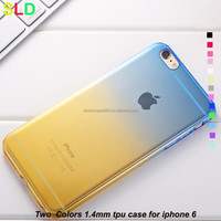 ultra thin silicone 0.3 mm case for iphone 6