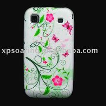 soft TPU rubber case skin back cover for Samsung Galaxy i9000