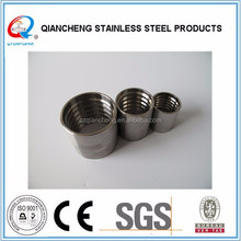 hebei stainless steel wire rope ferrule rubber pipe sleeves