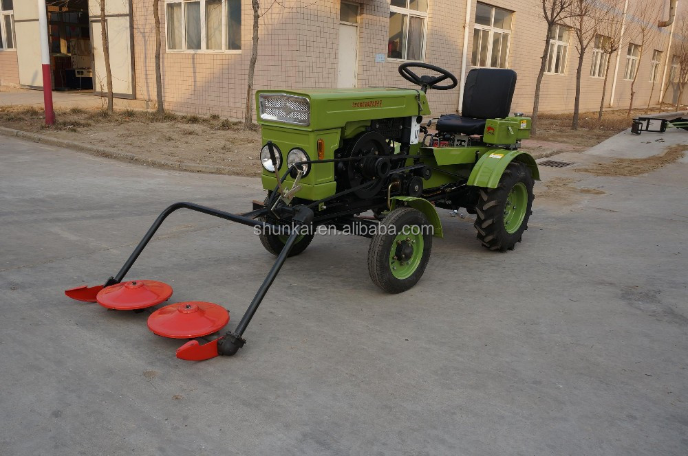 Hydraulique disque tondeuse gazon en mini tracteur - Mini tondeuse gazon ...