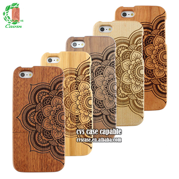 Mobile Accessory Sapele Wood For iPhone 6 Case Made by China Manufacturer