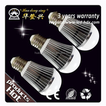Fashion product Die-casted Aluminum the brightest smd bulbs available emitting 330 lum