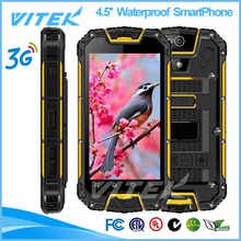 4.5inch Quad Core waterproof dustproof Smart Phone dual sim card