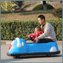 Steel wheel electric animal drift car/ bumper car for kid