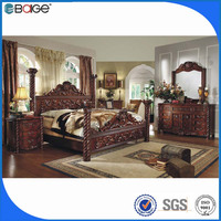 royal luxury bedroom furniture double layer bed double cot bed designs F-8008