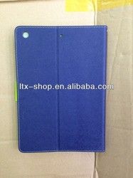 for ipad 5 cover , built in stylus holder and handle strap, cover for ipad 5 with auto wake up and sleep function