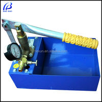 haobao SY-25X Manual Hydrostatic Water Pressure Test Pump Bench in China