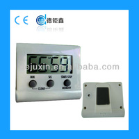 Big Lcd screen battery powered electronic timer