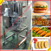 2015 CE Approved Automatic chicken beef potato vegetarian burger / burger making machine for sale