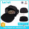 Christmas sales foldable portable soft travel dog bag cat shoulder bag