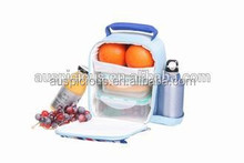Multi-compartment lunch bag thermal lunch box bag for adults fish cooler bag