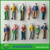 1:42 scale resin figure models standing model train figure