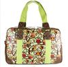 Ladies Oilcloth Owl Cross Body Satchel School Shoulder Bag Tote Handbag