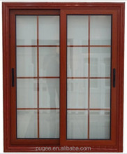 fixed window clear glass aluminum window