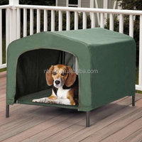 Indoor &outdoor portable waterproof faric dog house