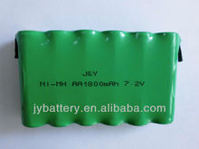 High power ni-mh battery aa battery portable heater battery