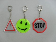 High quality hot selling reflective promotional keychain