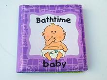 foam pvc color change bath book / promotional bath book toys for children