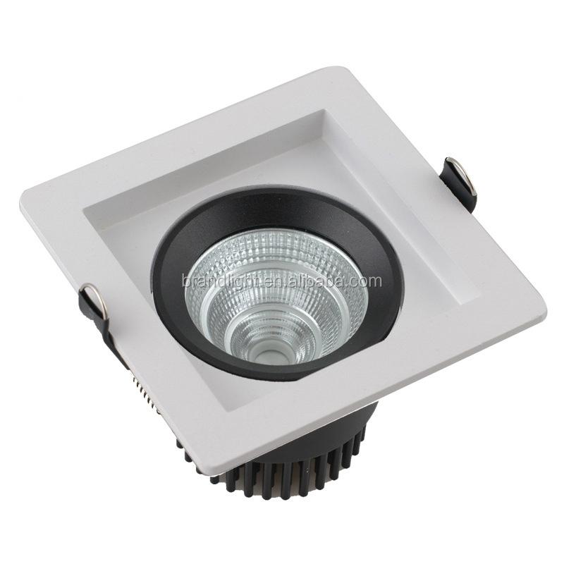 ip33 aluminium dissipateur de chaleur 90 x 90 mm led encastr spot 7 w led downlights id de. Black Bedroom Furniture Sets. Home Design Ideas