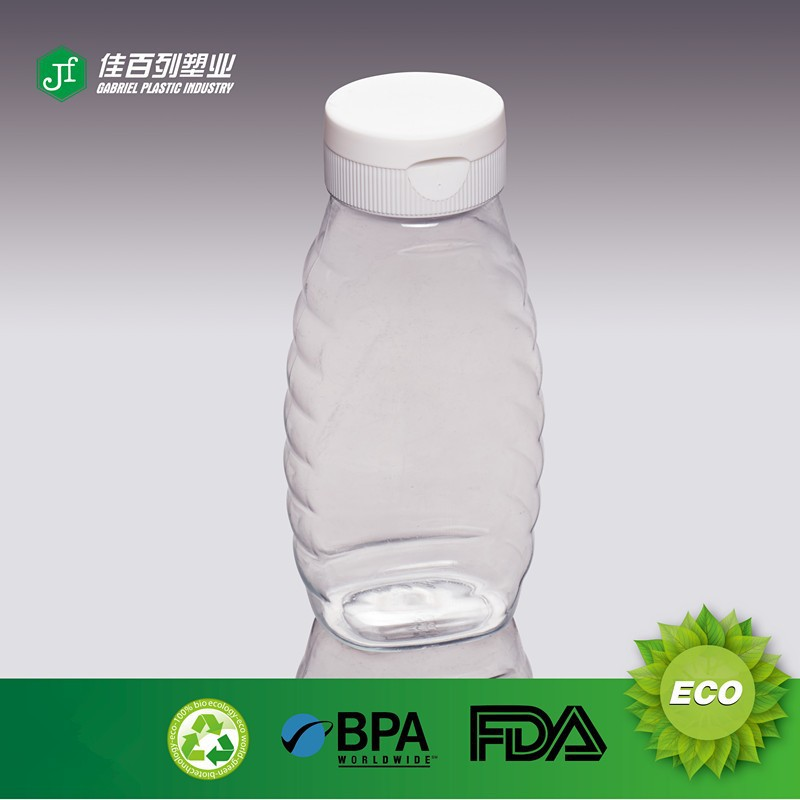 Wholesale flip top cap plastic squeeze bottle for sauce - Top plastic krukje ...
