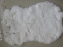 natural white/White Rabbit Fur Skin
