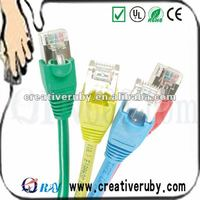24AWG ftp cat5e rj45 jumper cable/patch lead/patch cord