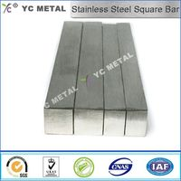 ASTM A276 Stainless Steel Square Bar 316 Mirror Polish Bar -YC Metal