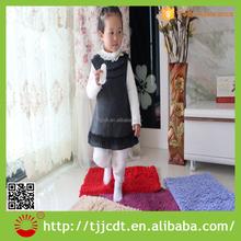 polyester microfiber chenille tufted shaggy cheap children carpet