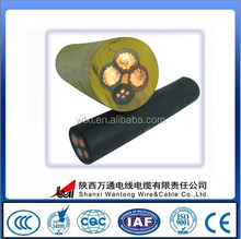 Soft Rubber Coated copper conductor flexible wire for mining use cables power cables electric wire cable