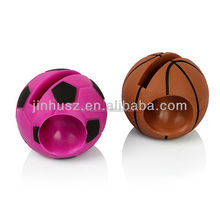 2013 lastest basketball silicone horn stand for iphone 5
