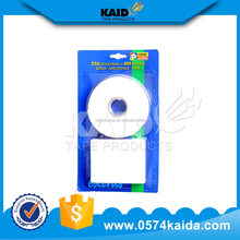 2015 china alibaba free sample 3m waterproof rubber remove double sided foam tape