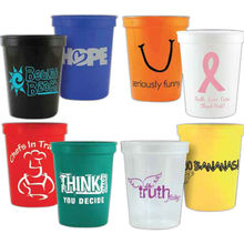 USA Made16 oz Classic Stadium Cup - BPA free and comes with your logo (less than minimum is available)