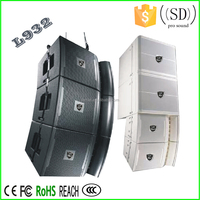 New design high quality low weight 114db/m theatre line array speaker box
