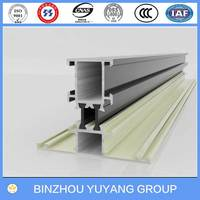 T TYPE aluminum window hollow frame extrusion section 6000 Series GB5237-2008
