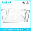 manufacturer wholesale galvanize tube chain link dog kennel runs/kennel for dog/dog kennel fence panel