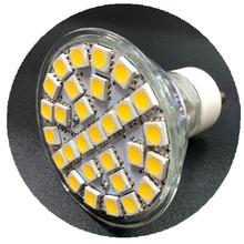 5pcs MR16 29 SMD 5050 LED 5W Pure White Enery Saving Spot Light Lamp Bulb 220V Free Shipping
