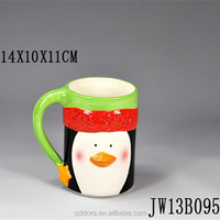Wholesale High Quality decal Porcelain Creative Mug For Chirstmas Gift/creative Mug For Promotion With Customized Logo
