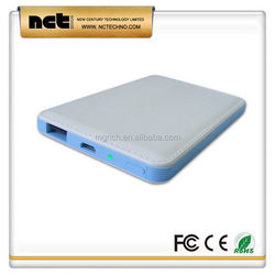 Quality newly design power bank for mobile phone 5000 mah
