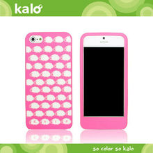 Silione mobile phone case for iPhone 5 Case