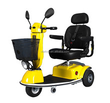 Vitafom--3 Wheel Electric Mobility Scooter for Adult, Middle Size, Yellow