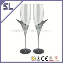 Wedding Gifts factory price Foshan wine glasses plastic champagne glass goblet wholesale
