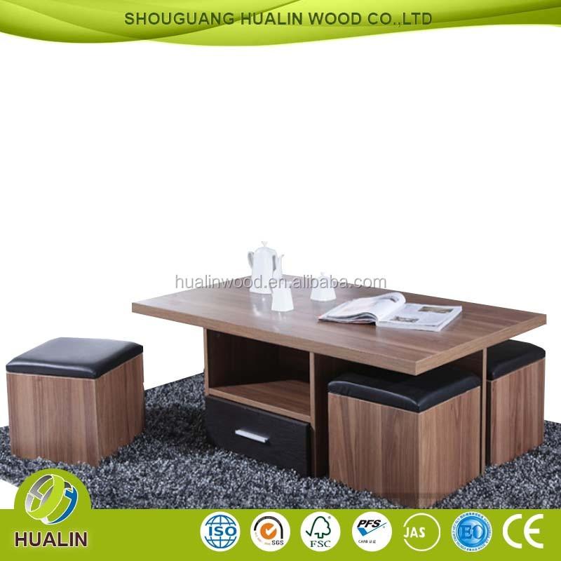 새로운 디자인 현대 거실 멜라민 PB 식탁 세트, 식탁--상품 ID ...