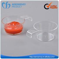 Inflight product custom plastic mini dessert cup disposable