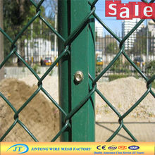 JT diamond wire mesh panels/woven chain wire mesh fencing/Chain Link Mesh For Decoration (factory)